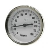 Термометр погружной Watts 63 50 120 град биметаллический 10005802 03.01.043 самогонного аппарата купить в Челябинске измерение температуры конденсации 1/2