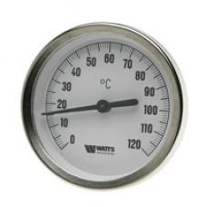 Термометр Ватс погружной в перегонный бак шток 50мм с погружной гильзой